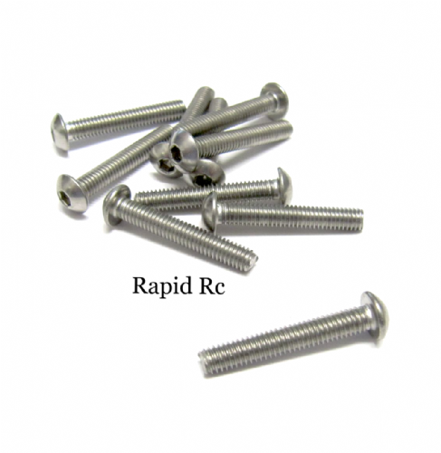M4x25mm Stainless Steel Socket Button head Bolt